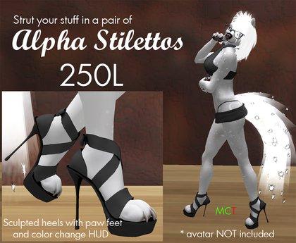 The AlphaIn Stilettos